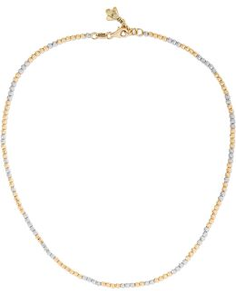 Discoball 18-karat Gold And White Gold Choker