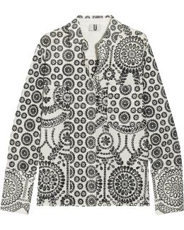 Cleary Broderie Anglaise Cotton Shirt