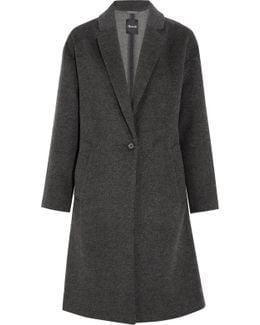Monsieur Wool-blend Felt Coat