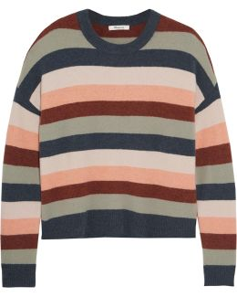 James Striped Knitted Sweater