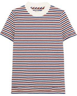 Remy Striped Cotton T-shirt