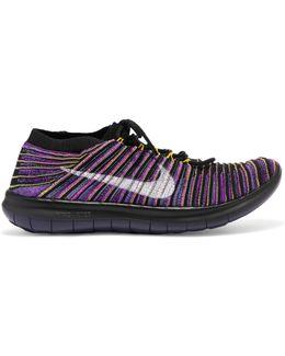 Lab Free Run Motion Flyknit Sneakers