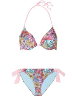 Bolivian Bloom Printed Underwired Bikini