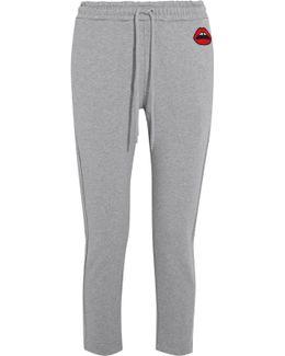 Daria Cotton-jersey Track Pants