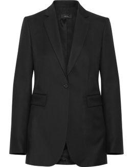 Laurent Super 100 Wool-twill Blazer