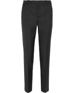 Kong Super 100 Wool Tapered Pants