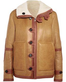 Witham Reversible Oversized Shearling Jacket