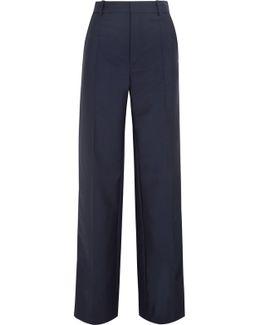 Ferdy Wool And Mohair-blend Wide-leg Pants