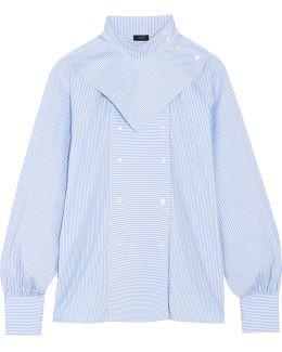 Bix Striped Cotton-poplin Shirt