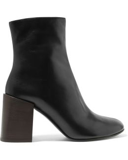Saul Leather Ankle Boots