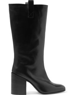 Bamy Leather Knee Boots