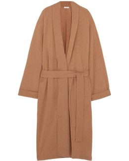 Frileuse Loving Wool And Cashmere-blend Robe