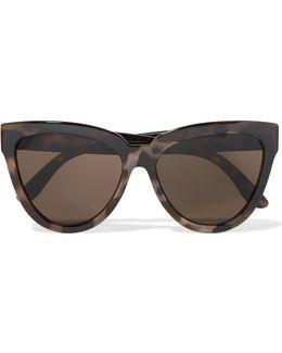Liar Lair Cat-eye Tortoiseshell Acetate Sunglasses