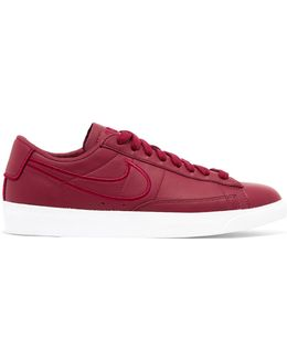 Blazer Leather And Suede Sneakers