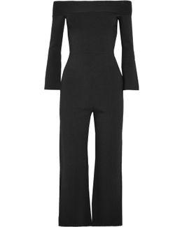 Felbridge Off-the-shoulder Jersey Jumpsuit