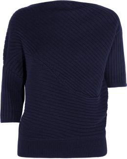 Infinity Ribbed Merino Wool Sweater