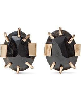 14-karat Gold Sapphire Earrings