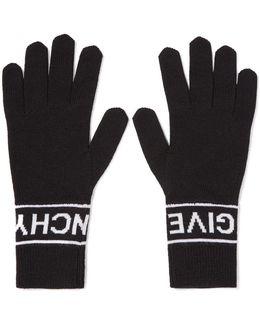 Intarsia Wool Gloves