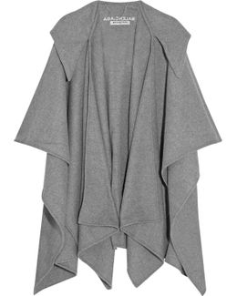 Hooded Wool And Cashmere-blend Poncho