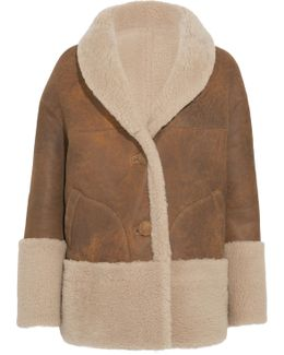 Rainey Reversible Shearling Coat