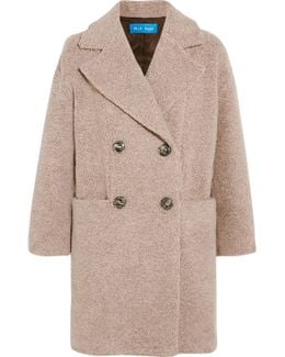 Ormsby Double-breasted Wool-blend Coat