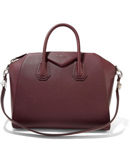 Antigona Medium Textured-leather Tote