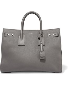 Sac De Jour Medium Textured-leather Tote