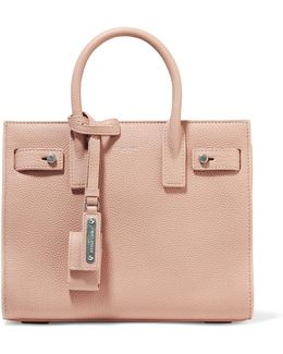 Sac De Jour Nano Textured-leather Tote