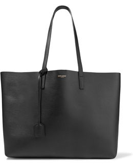 Shopping Large Textured-leather Tote