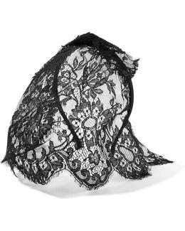 Tina Lace Veiled Headband