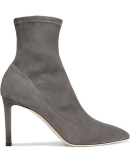 Louella Stretch-suede Boots