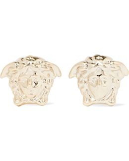 Medusa Gold-tone Earrings