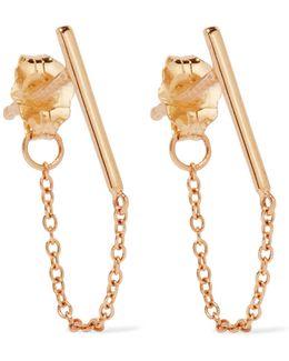 Ballerina 14-karat Gold Earring