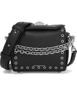 Box Bag Embellished Leather Shoulder Bag