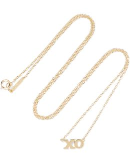Xo 18-karat Gold Necklace