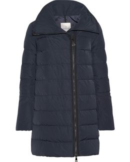 Lobelia Quilted Shell Down Coat