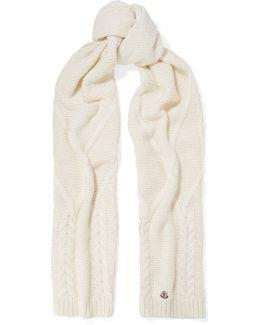 Chunky-knit Scarf