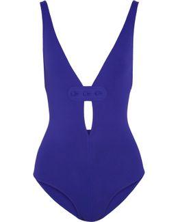 Magic Georgia Button-embellished Swimsuit
