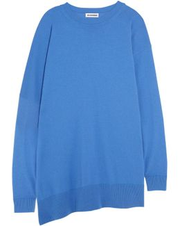 Oversized Fleece Wool And Cashmere-blend Sweater
