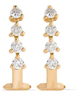 Manoela 18-karat Gold Diamond Earrings