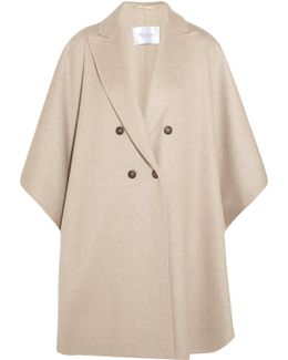 Basilio Draped Cashmere Coat