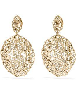 Dentelle Gold-plated Earrings