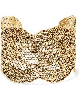 Lace Gold-plated Cuff