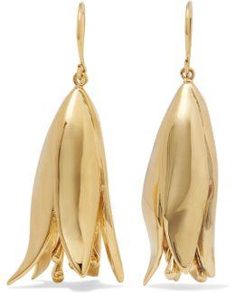 Demetria Gold-plated Earrings