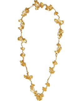 Tangerine Gold-plated Necklace