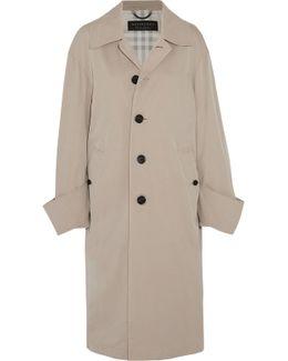 Oversized Cotton-twill Coat