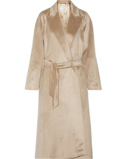 Bormio Belted Alpaca Coat