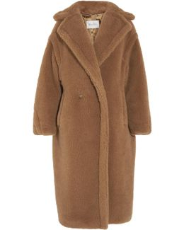 Aurelia Oversized Camel Hair And Silk-blend Coat