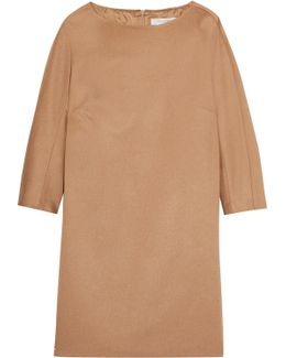 Camel Hair Mini Dress