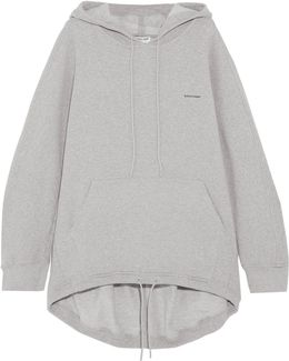 Cocoon Cotton-blend Jersey Hooded Top